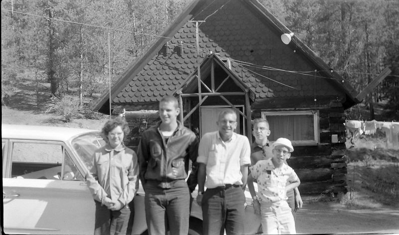 #42 Winston-Malcolm-Kenyon Stebbins & Doug&janet Novacoski (mabye) 5 July'60
