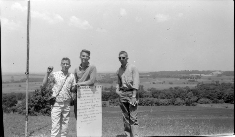 #157 Winston-Malcolm-Kenyon Stebbins Charles Mound Ill 24 June'61