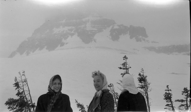 #12 Glacier Nat'l Park Logan Pass 17 June'60