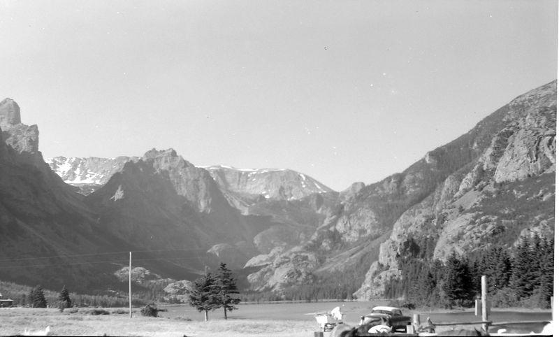 #189 Rowland Stebbins at Rosebud Lake Montana 30 June'61