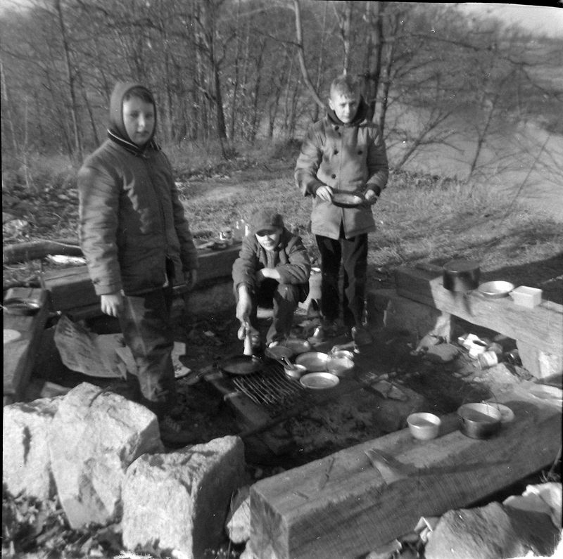 #108 Tim Markell Dave Meck Paul Reful Troop 15 Eaton Shores 1 Dec'60