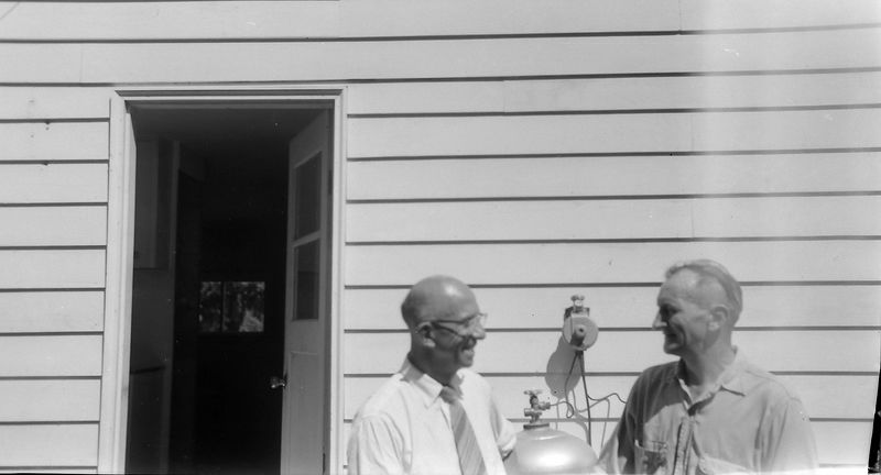 #206 Rowland Stebbins & Francis Bergoyne Bay Lake Washington13 July'61