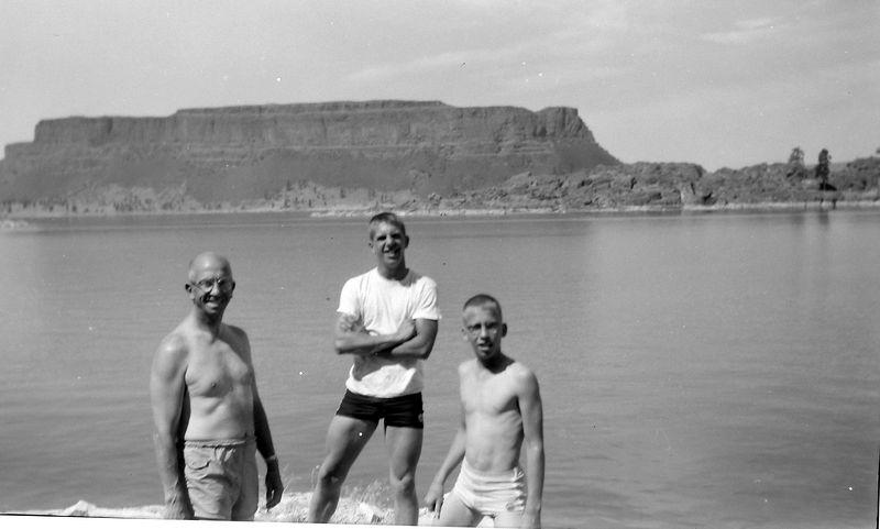 #213 Rowland & Winston-Malcolm-Kenyon Stebbins Banks Lake Washington state 15 July'61