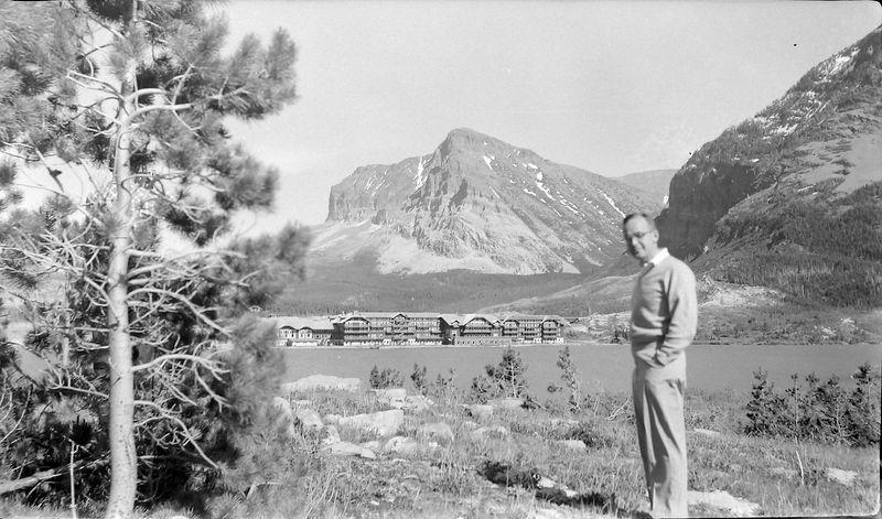 #17 Dick Bohr from Cleveland Glacier Park 18 June'60