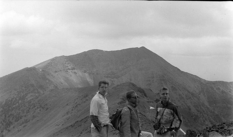 #149 Winston-Malcolm-Kenyon Stebbins Humphrey's Peak Arz 3 July'62