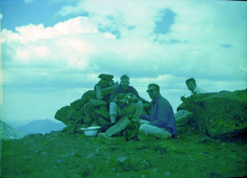 #147 Winston-Malcolm-Kenyon Stebbins Humphry's Peak Ariz 3 July'62