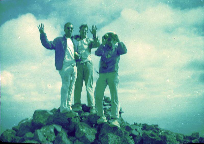 #145 Winston-Malcolm-Kenyon Stebbins Humphry's Peak Ariz 3 July'62