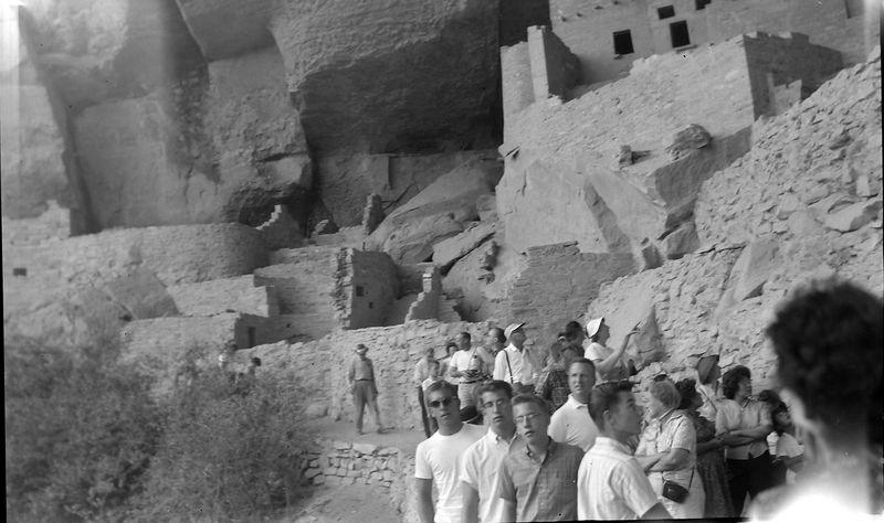 #136 Winston-Malcolm-Kenyon Stebbins Mesa Verde Nat'l Park Colo 1 July'62