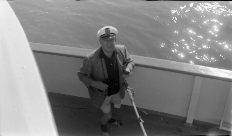 #110 Francis Stebbins aboard SS S American 4 June'62