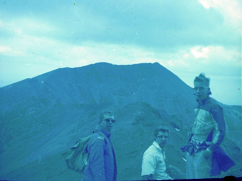 #143 Winston-Malcolm-Kenyon Stebbins Humphry's Peak Ariz 3 July'62