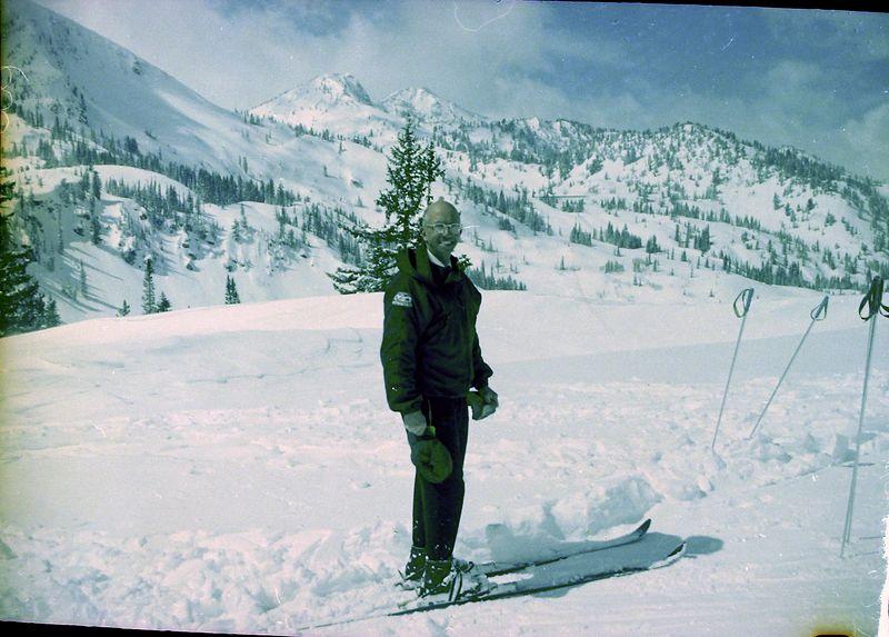 #59 Rowland Stebbins at Mt Majestic Brighton Utah 23 March'62