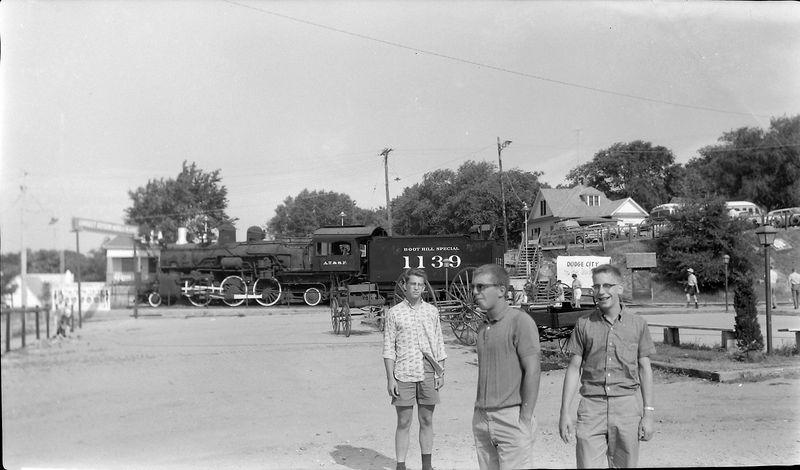#131 Winston-Malcolm-Kenyon Stebbins Dodge City Kansas 30 June'62