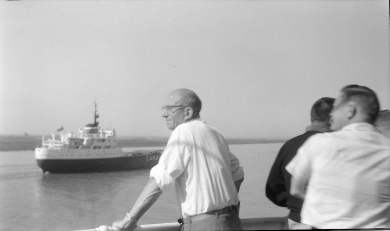 #109 Rowland Stebbins aboard SS S American 4 June'62