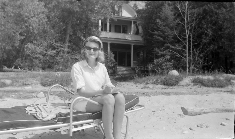 #83 Hallie Wright at Roaring Brook 22 May'62