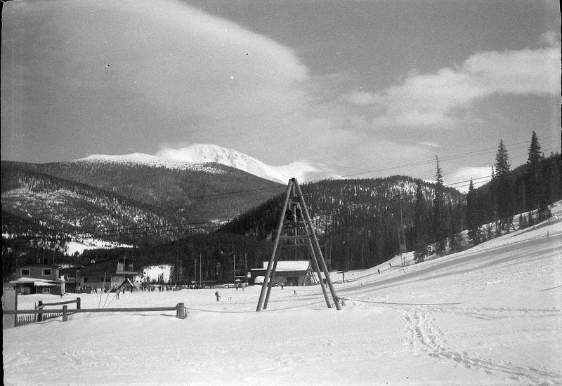 #74 Winter Park Lodge Colo March'62