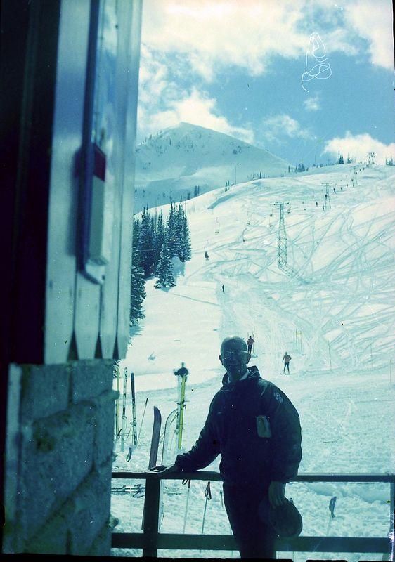 #61 Rowland Stebbins at Mt Millicent Brighton Utah 23 March'62