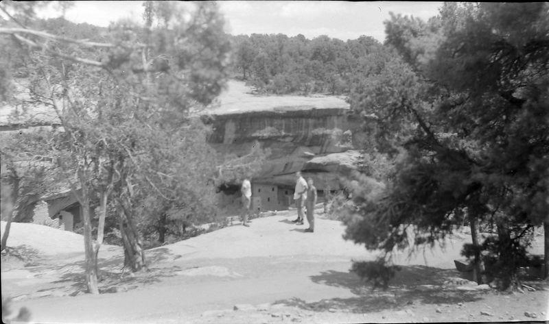 #134 Winston-Malcolm-Kenyon Stebbins Mesa Verde Nat'l Park Colo 1 July'62