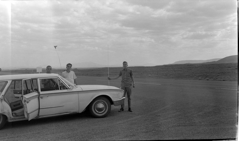 #138 Winston-Malcolm-Kenyon Stebbins Arizona 2 July'62