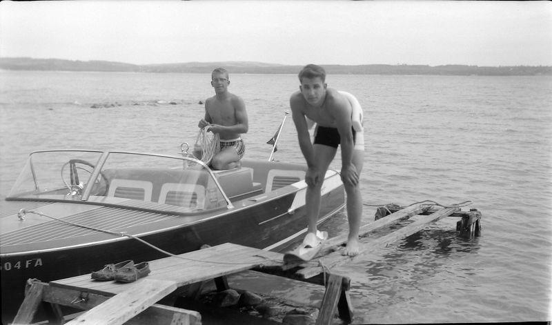 #116 Winston & Malcolm Stebbins Roaring Brook 15 June'62