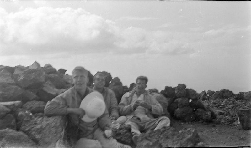 #150 Winston-Malcolm-Kenyon Stebbins Humphrey's Peak Arz 3 July'62