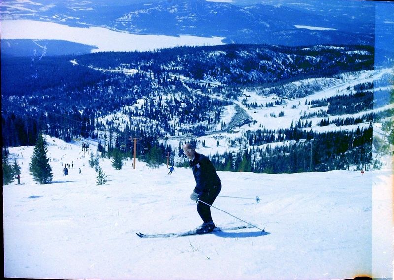#48 Rowland Stebbins Big Mt Montana 17 March'62