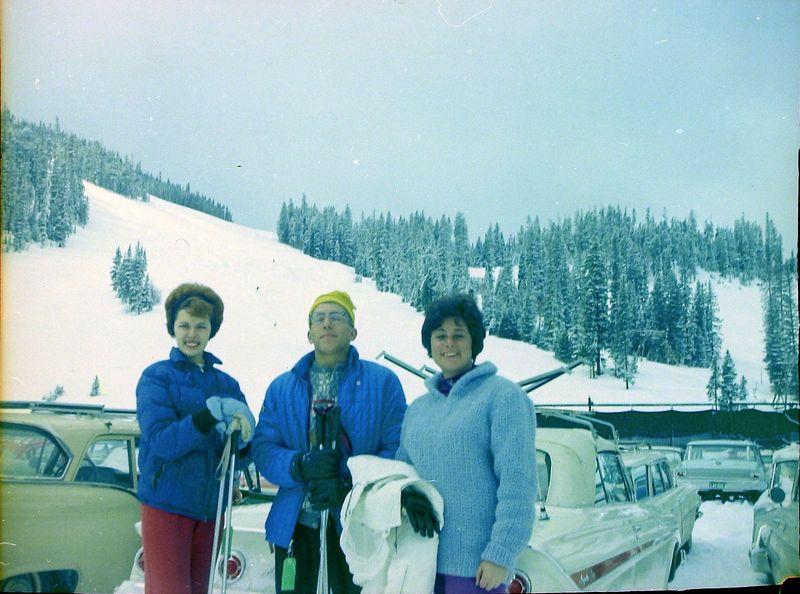 #66 Susan & Winston Stebbins & Carol Winter Park Colo 24 March'62