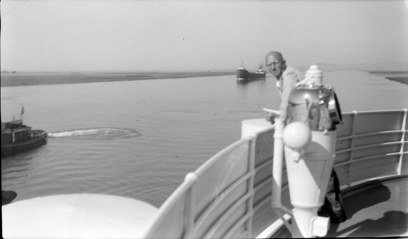 #112 Rowland Stebbins aboard SS S American 4 June'62