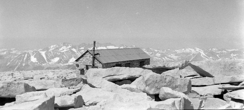 #9 Summit House Mt Whitney Calif 7 July'62