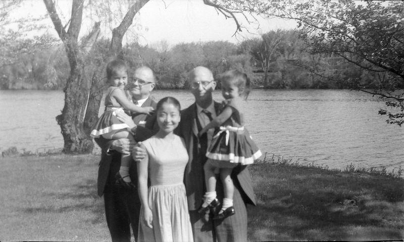 #156 Rowland Stebbins & Charlie Barber Family 1710 MRD July'63