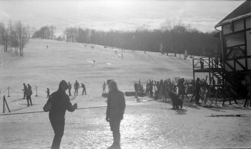 #98 Snow Trails Ski Area Mansfield Ohio C Rowland & Winston Stebbins  30 Dec'62
