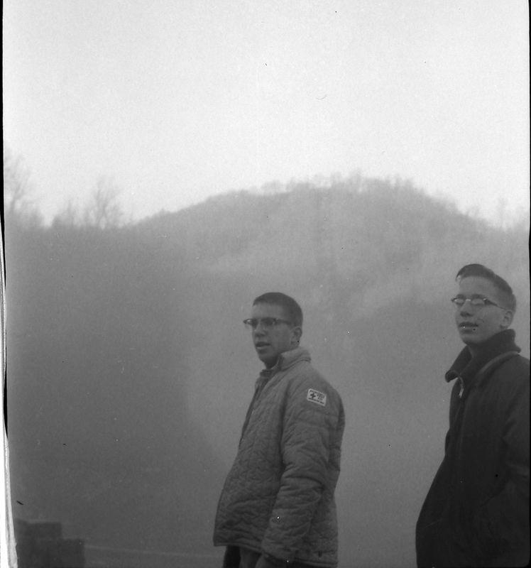 #90 Gatlinburg Ski Club Hill Tenn Winston& Kenyon Stebbins 27 Dec'62