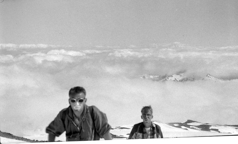 #55 Kenyon&Malcolm Stebbins enroute Mt Rainier Wash 15 July'62