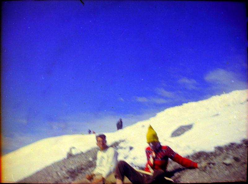 #44 Kenyon&Malcolm Stebbins enroute Mt Rainer Wash 15 July'62