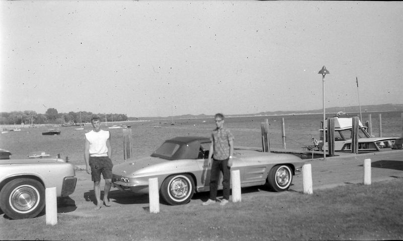 #142 Malcolm&Kenyon Stebbins Harbor Springs Mi 4 July'63