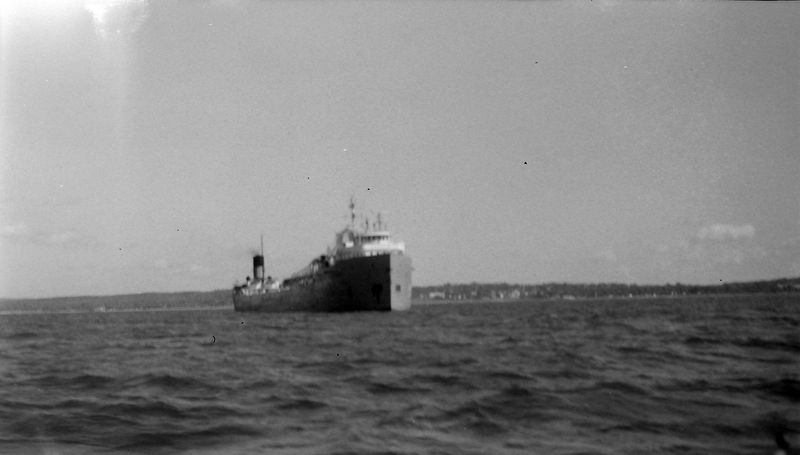 #159 Galster cement boat Harbor Springs Aug'63