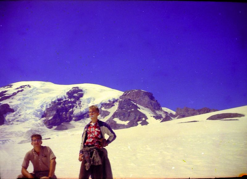 #47 Kenyon&Malcolm Stebbins enroute Mt Rainer Wash 15 July'62