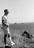 #27a Winston Stebbins (in foot cast) Pacific Ocean Calif 12 July'62