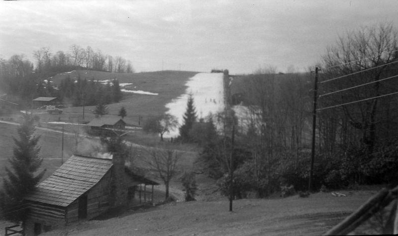 #91 Gatlinburg Ski Club hill Tenn 27 Dec'62