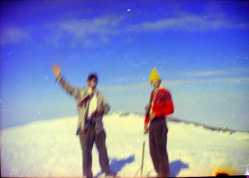 #42 Rowland&Kenyon Stebbins Camp atop Mt Rainer Wash 14 July'62