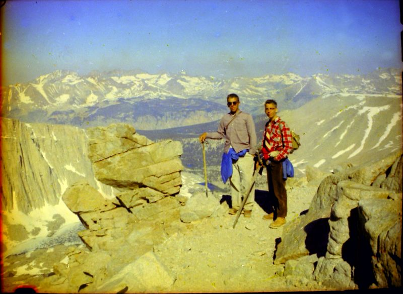 #1 Winston&Kenyon Stebbins Mt Whitney Calif 7 July'62