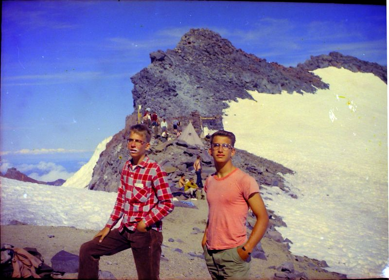 #37 Kenyon&Malcolm Stebbins Camp Muir Mt Rainer Wash 14 July'62