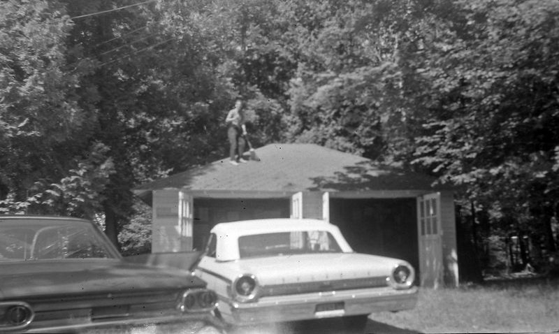 #157 Kenyon Stebbins 1963 Convertable Roaring Brook 14 July'63
