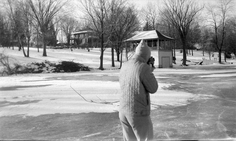 #118 Winston Stebbins on ice 1710 MRD 1 Jan'63