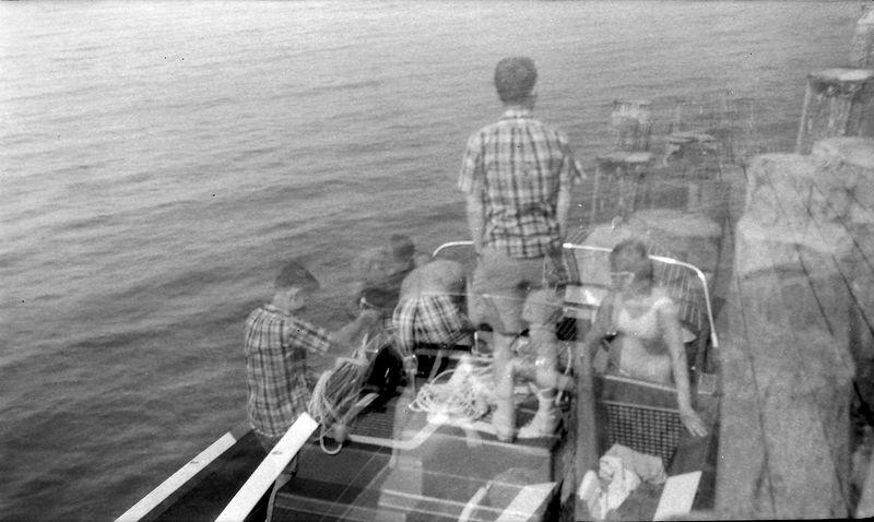 #147 Fred Manson & Winston Stebbins & Karin Walstrom in ME-2 8 July'63