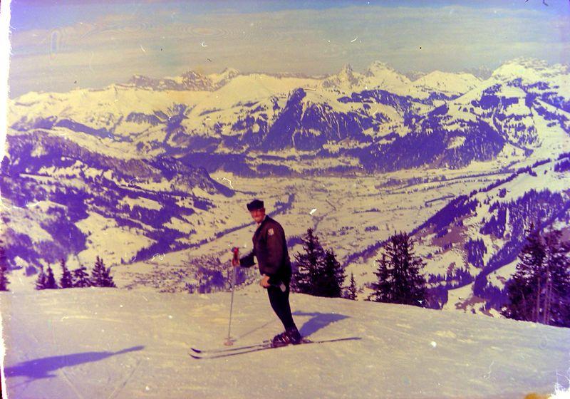 #137 Rowland Stebbins Gstaad Switzerland 13 Mar'65