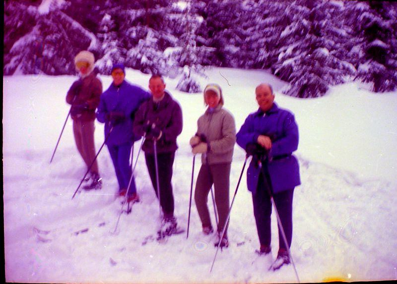 #118 Down the Fleek Kitzbuhel Austria Traverse City people 6 Mar'65
