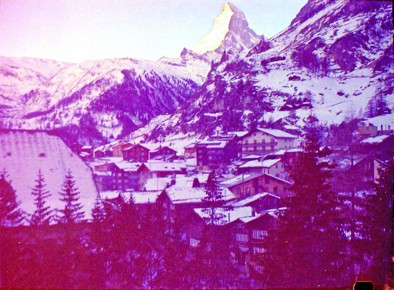 #24 Matterhorn Zermatt 5 Feb'64