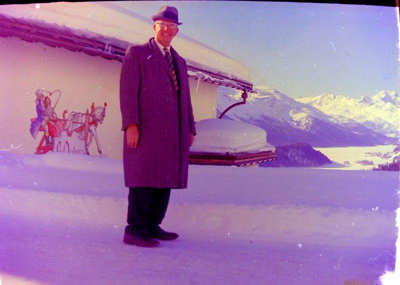 #133 Rowland Stebbins La Guinta home of (maybe) Ernie Kangler St Moritz 12 Mar'65