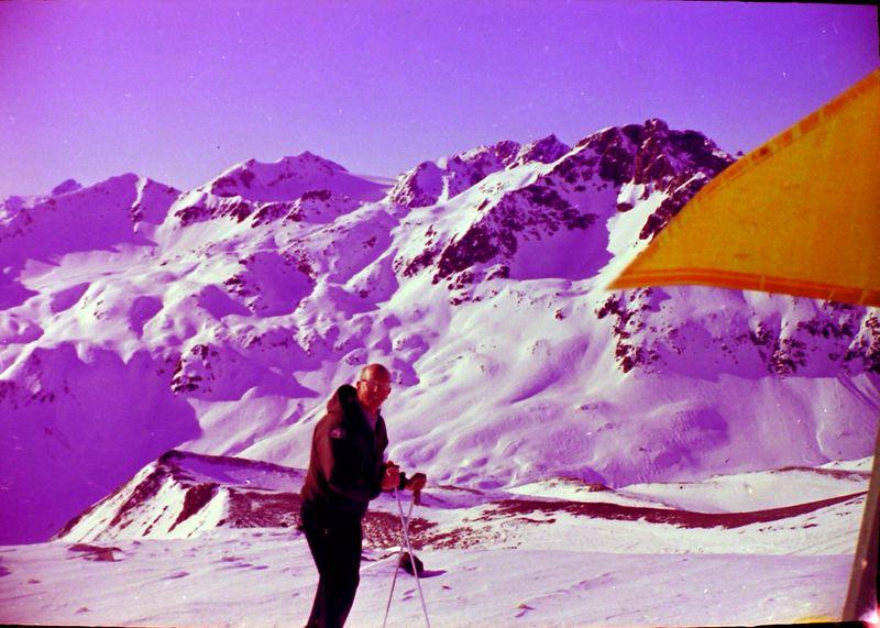 #25 C Rowland Stebbins at St Moritz 3 Feb'64