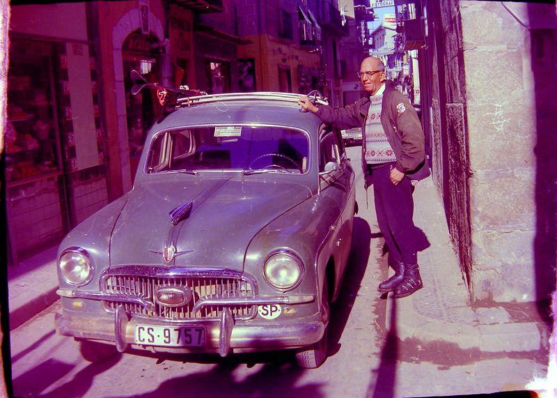 #153 Rowland Stebbins Puigcerda Spain 16 Mar'65